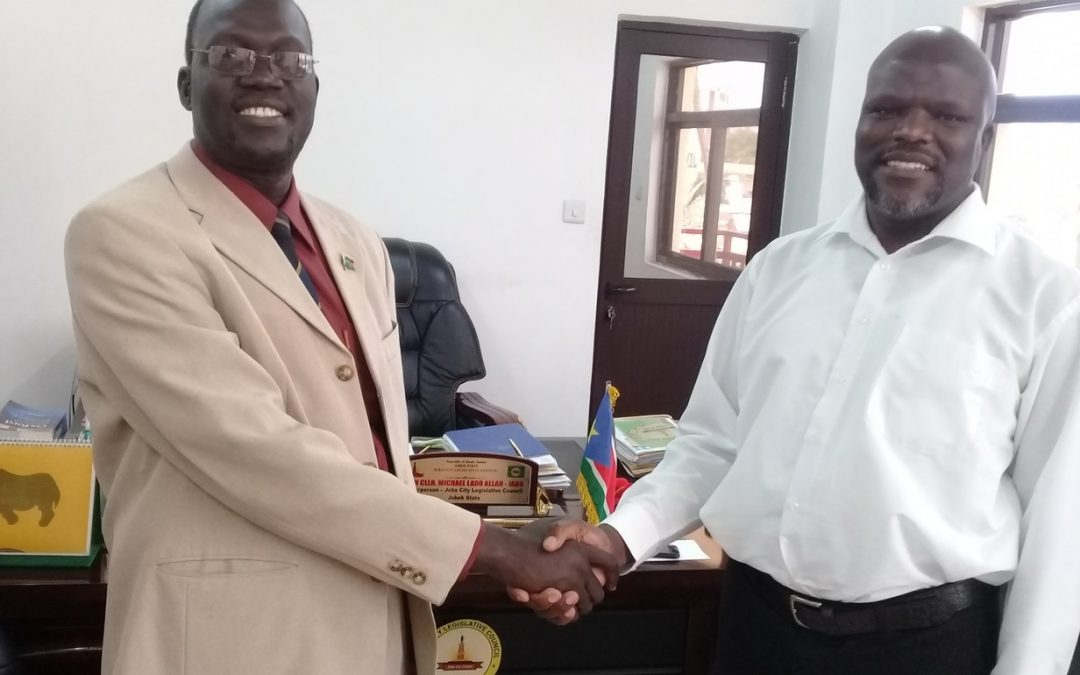 Helping local government in South Sudan