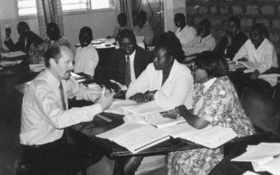 Training, and being trained by, African Christian leaders