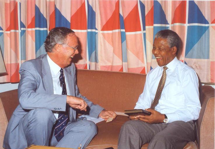 Marvelling at Mandela